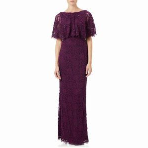 Dresses & Skirts - Adrianna Papell Lace Dress Mulberry 14 NWT
